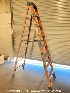 Werner 6308 8ft Fiberglass Folding Ladder