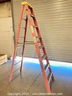 Werner 6208 8ft Fiberglass Folding Ladder