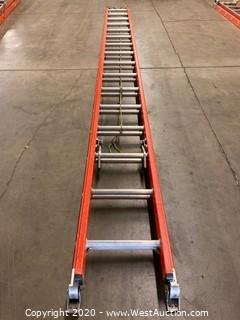 Werner D6132-2 32ft Electro-master Fiberglass Extension Ladder