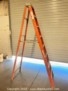 Louisville 8ft Fiberglass Folding Ladder