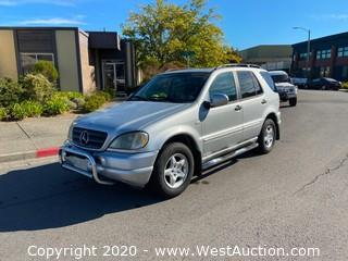 2000 Mercedes-Benz ML320 4WD SUV