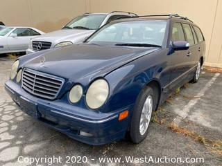 2001 Mercedes-Benz E320 Wagon