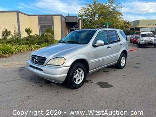 2001 Mercedes-Benz ML320 4WD SUV