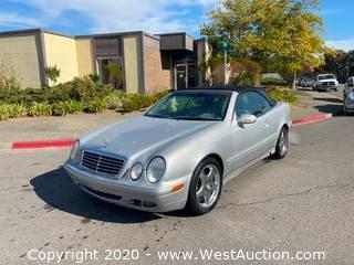 2001 Mercedes-Benz CLK320 Convertible Coupe