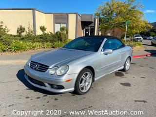 2004 Mercedes-Benz CLK55 Convertible Coupe