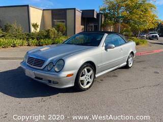 2000 Mercedes-Benz CLK 430 Convertible Coupe