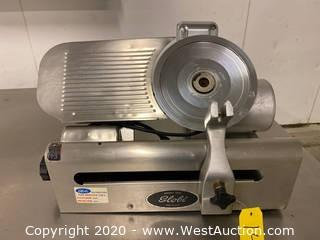 Globe Gravity Feed Meat Slicer