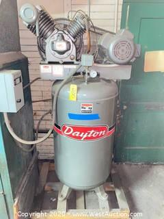 Dayton 5.0 HP Air Compressor 3Z966A