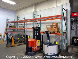 (3) Sections of 10' Pallet Racking