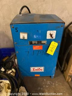 Exide Forklift Battery Charger