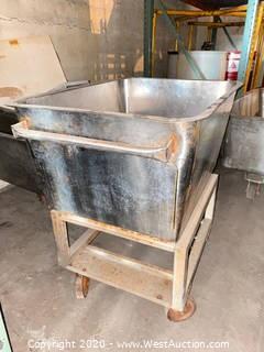Stainless Steel Basin Cart