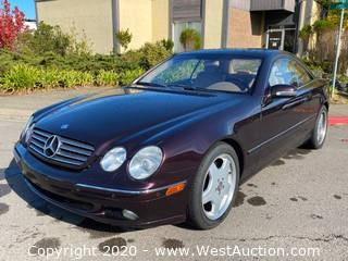 2000 Mercedes-Benz CL500