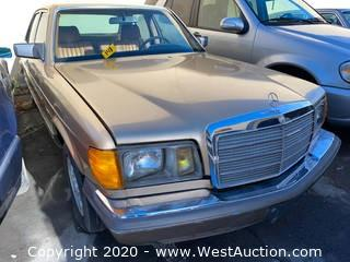 1984 Mercedes-Benz 300SD Turbo Diesel Sedan