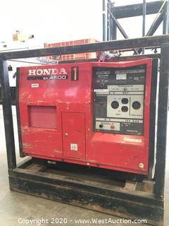 Honda EX 4500 Generator