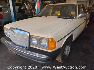 1983 Mercedes-Benz 240D Diesel Sedan