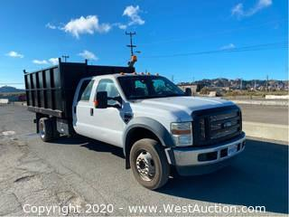 2008 Ford F-450 XL Super Duty Dump Bed Truck