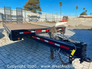 Towmaster T-20 20ft Beavertail Trailer