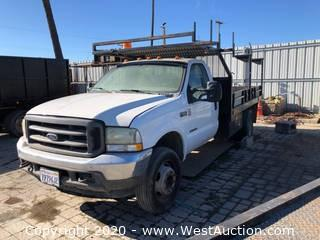 2002 Ford F-550 Diesel Super Duty (for parts)