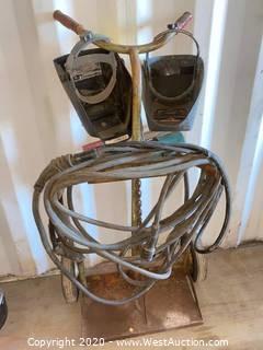 Welding Cart & Masks