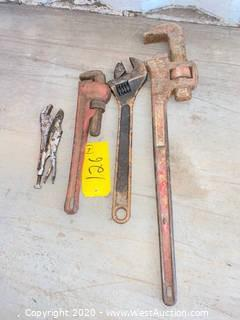 (4) Assorted Wrenches