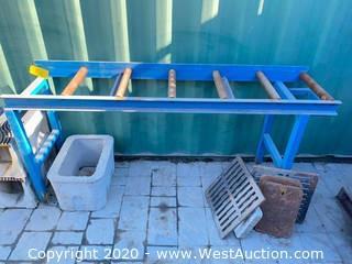 6' Steel Conveyor Section