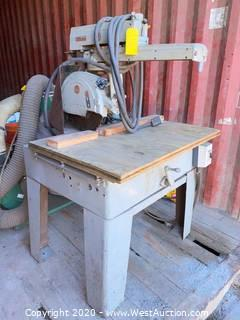 "Delta Rockwell Radial Arm 12"" Saw"