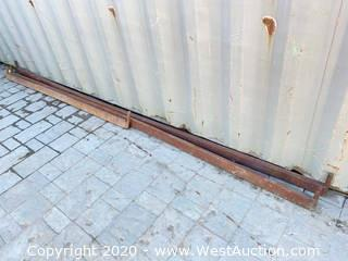 (3) Fabricated Truck Rails