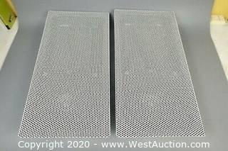 (2) Extron Ff-120 Two Way Surface Mount Speakers (In Box)