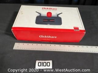 Barco ClickShare CSM1 in Box With 2 TX