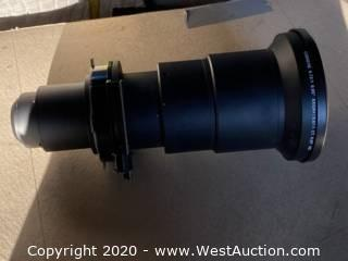 Short Throw .73 Lens For Christie HD18k (Includes Case)