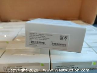 (10) NIB 12W Apple USB Power Adapters