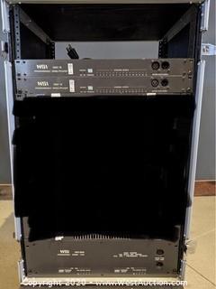 (1) NSI NRD8000 Dimmer And (2) NSI DMX16 Demultiplexer (Rack not included)