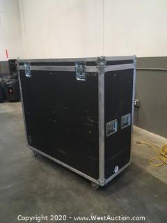"TV Storage Case with Motorized Lift for 42"" TV"