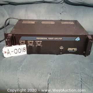 AB International 1830 amplifier
