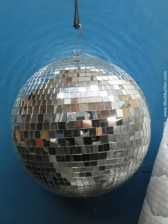 Disco Ball and Case