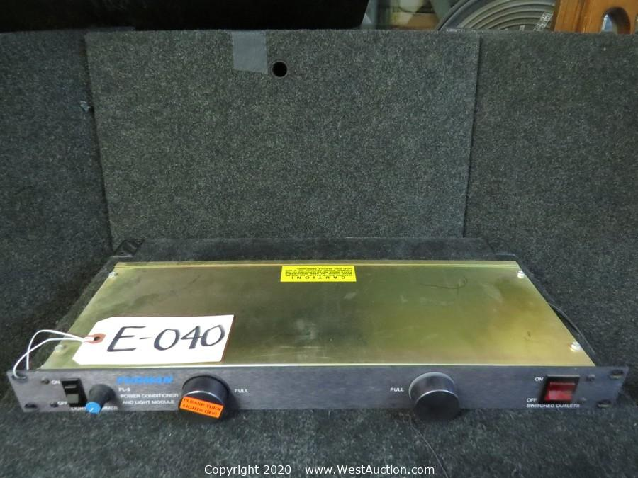 Event Production Surplus Auction of Speakers, Amplifiers, Road Cases, and More (Part 1)