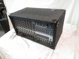 Peavey XR684 Mixer/Amplifier