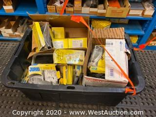 (1) Bin of Assorted Brake Pads