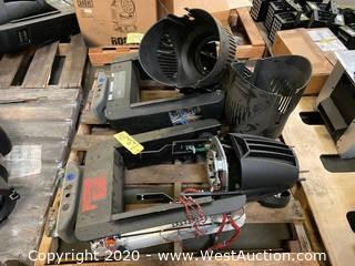 (2) Vari-Lite VL1000 Moving Head Lights (For Parts)