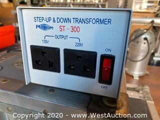 Step Up And Down Voltage Transformer In Road Case