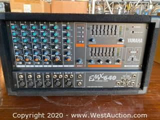 Yamaha EMX 640 Powered Mixer