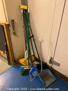 Cleaning Tools; Brooms, Dustpans, And More