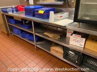 Contents Of Table; Plastic Trays, Crates, And More