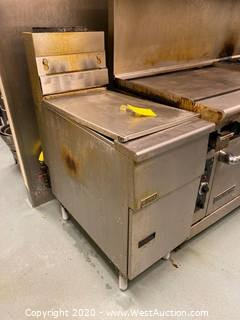 Pitco Commercial 2 Well Fryer