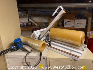 AJM UB16 Shrink Wrap Dispenser