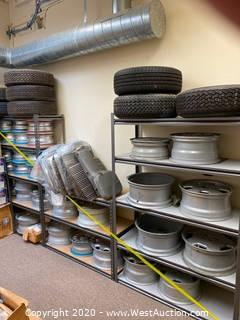 Assorted Wheels And Tires