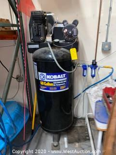Kobalt 60 Gallon Cast Iron/Oil Lube Air Compressor