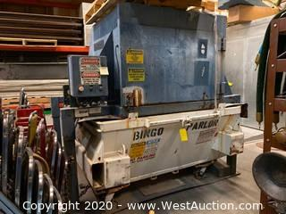 Trash Compactor With Large Metal Trash Bin