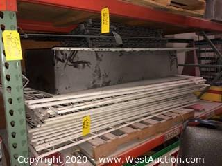 Pallet: Metro-Style Rack & Ornamental Barrier Sections