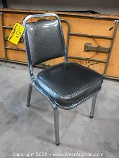 Bulk Lot; (42) Grey Chairs